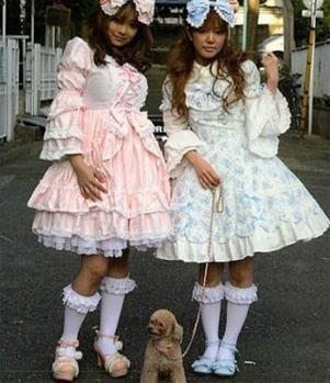 Super cute jurkjes, en heel gewaagd!